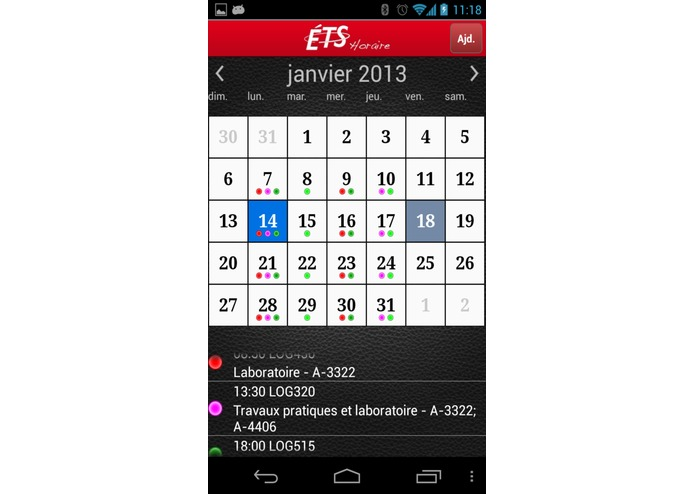 ETSMobile – screenshot 4