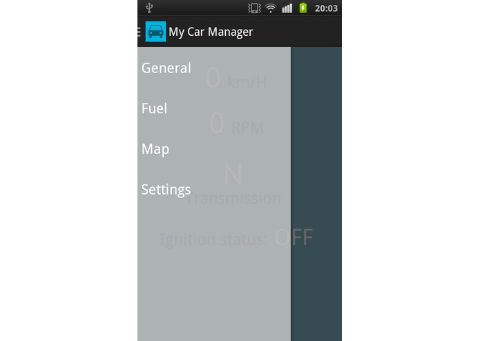 My Car Manager – screenshot 1