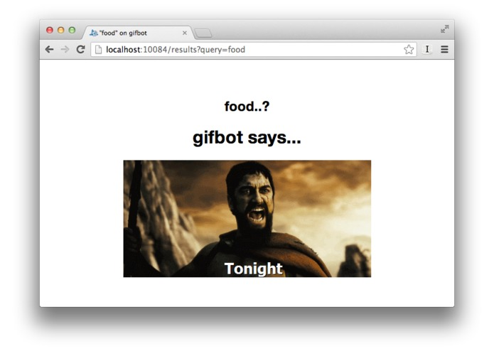 GIfbot – screenshot 1