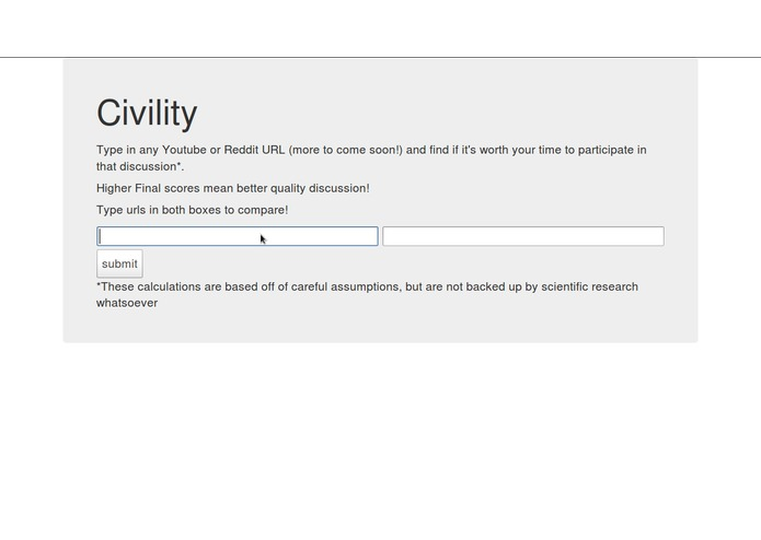 Civility – screenshot 2
