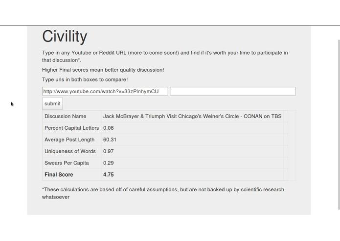 Civility – screenshot 3