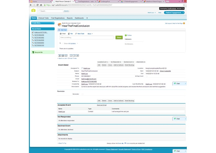 Salesforce Patient Engagement – screenshot 4