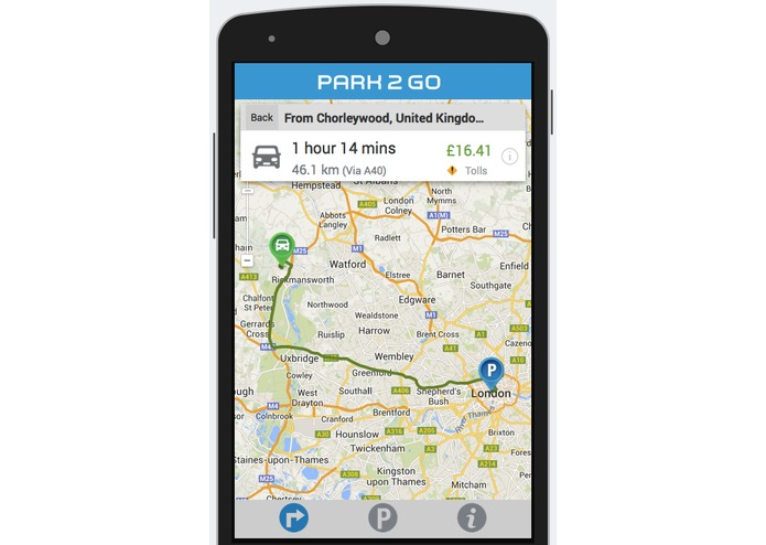 Park 2 Go London – screenshot 2