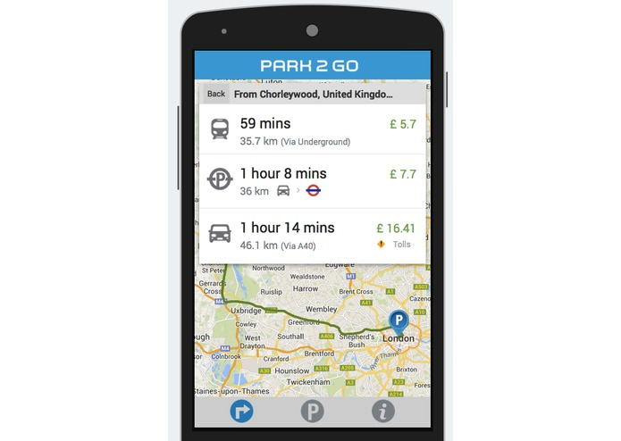 Park 2 Go London – screenshot 3