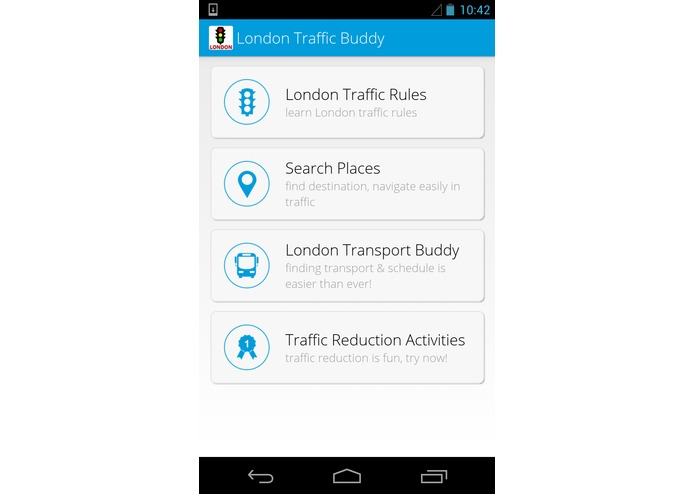 London Traffic Buddy – screenshot 1