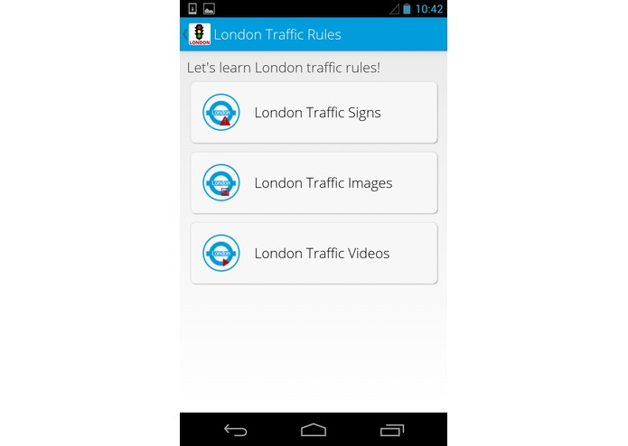 London Traffic Buddy – screenshot 2