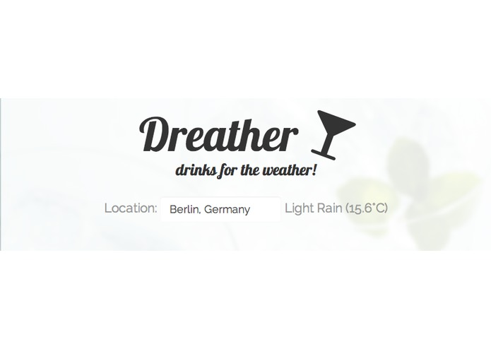 Dreather - drinks for the weather – screenshot 2