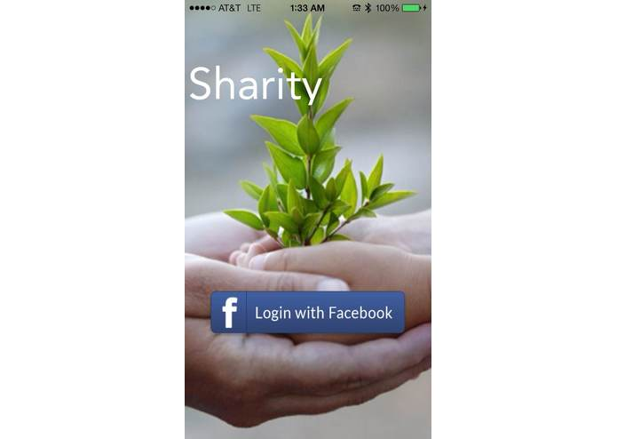 Sharity – screenshot 1