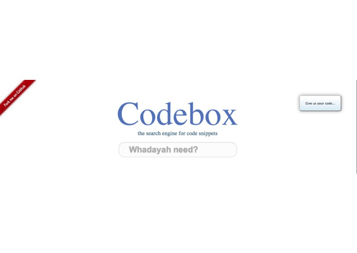 Codebox – screenshot 1