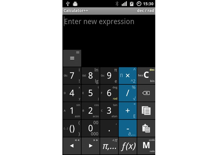 Calculator++ – screenshot 1