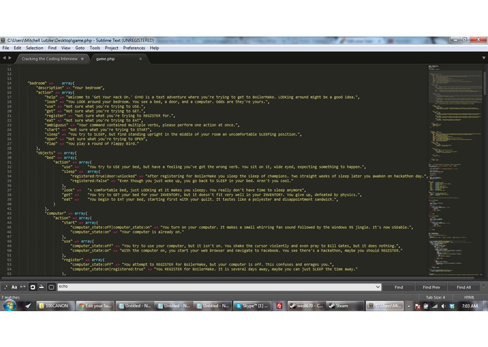"""Get Your Hack On"" ... A text(ing) adventure powered by Twilio – screenshot 2"