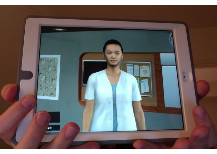 Engineered Care's Virtual Health Assistant – screenshot 1
