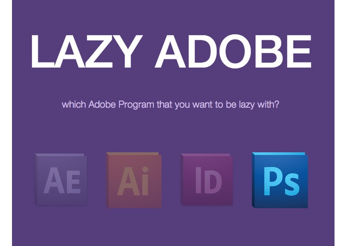 LazyAdobe – screenshot 1