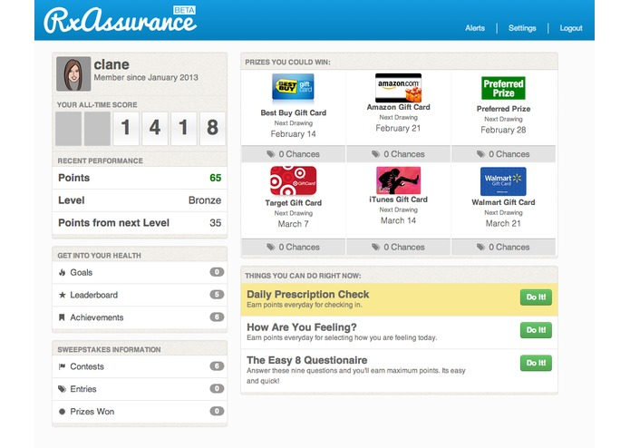 RxAssurance Engagement Platform – screenshot 4