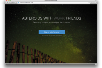 Asteroids with Friends