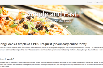 Foods.IO - Food-as-a-Service