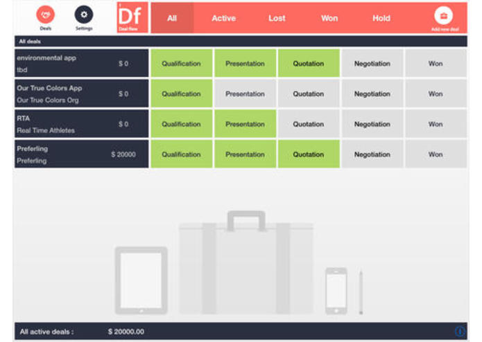 DealFlow app- The CRM User Experience re-imagined – screenshot 1