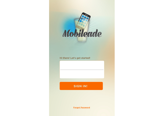 Mobileade – screenshot 1