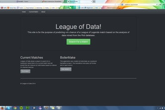 League of Data