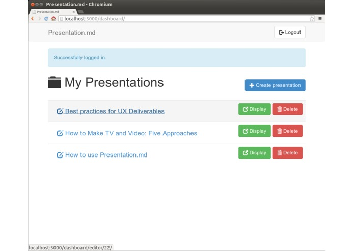 Presentation.md – screenshot 1