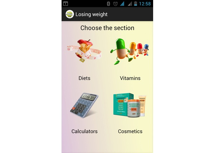 Losing weight  – screenshot 1