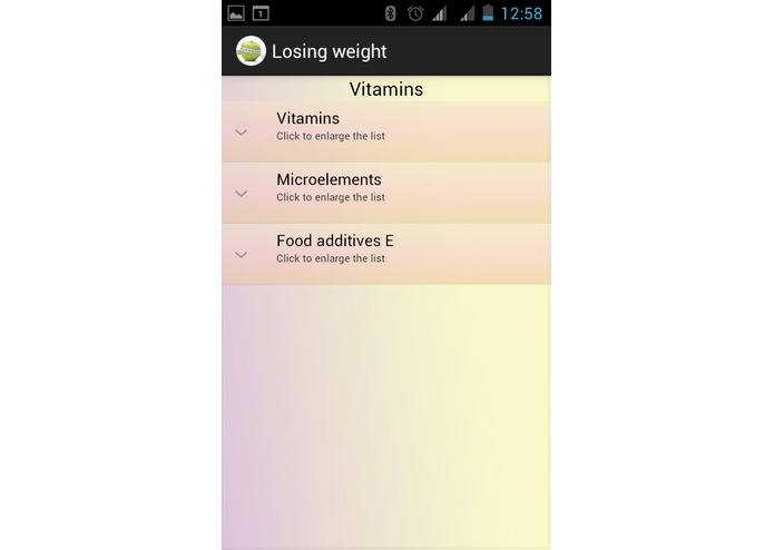 Losing weight  – screenshot 3