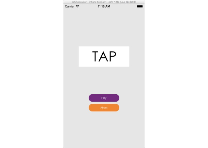 TAP – screenshot 1