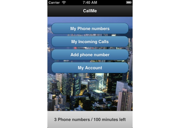 CallMe – screenshot 1