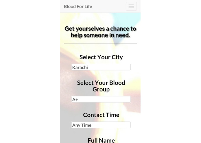 Blood For Life: Blood Donor Directory & Stakeholder Exchange – screenshot 3