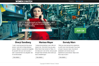 Women 2 Watch