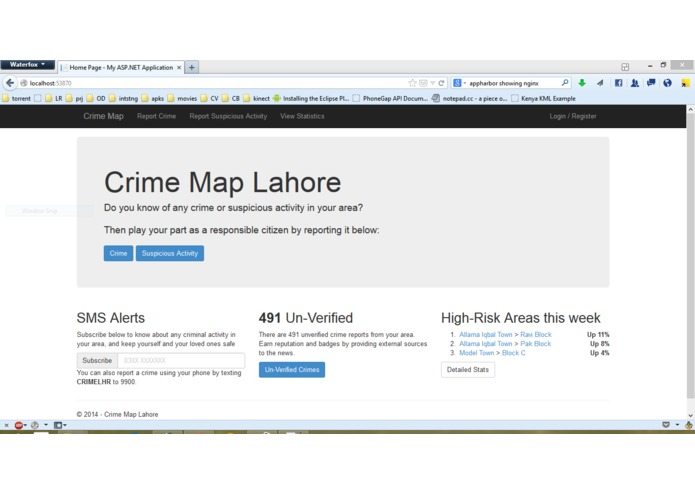 Crime Map Lahore – screenshot 1