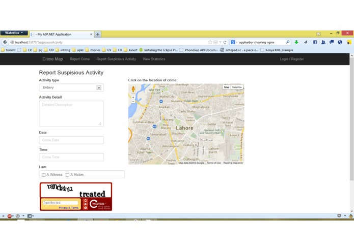 Crime Map Lahore – screenshot 2