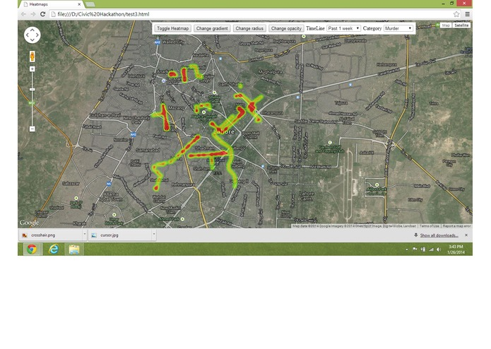 Crime Map Lahore – screenshot 4