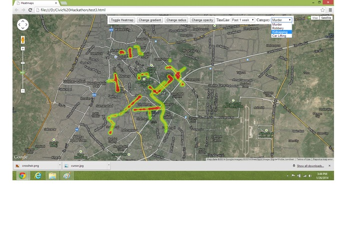 Crime Map Lahore – screenshot 5