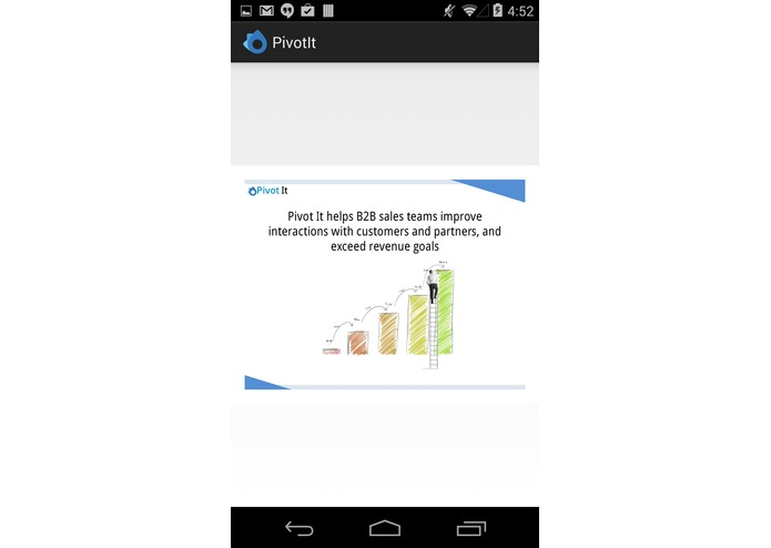 Pivot It Mobile App – screenshot 1