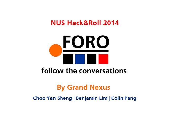 Foro: Follow the Conversations – screenshot 2