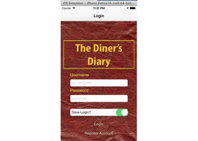 The Diner's Diary – screenshot 5
