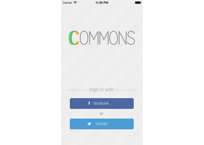 Commons – screenshot 1