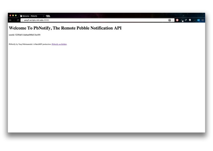 PbNotify – screenshot 4