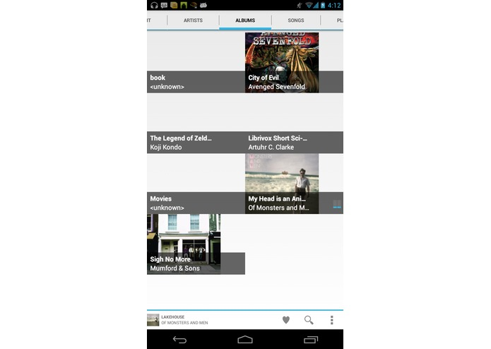 Musydra music player  – screenshot 2