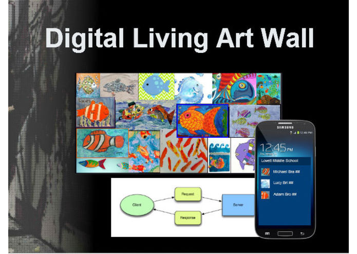 Digital Living Art Wall – screenshot 1