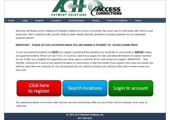 ACH Payment Solutions: Access Corrections | Devpost