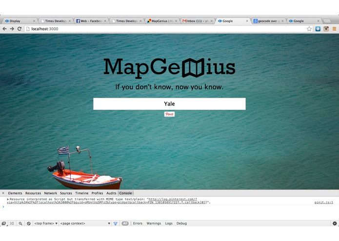 MapGenius – screenshot 2