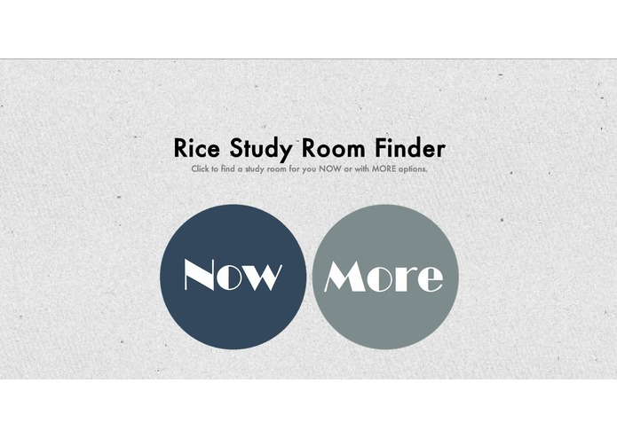Rice Study Room Finder – screenshot 1