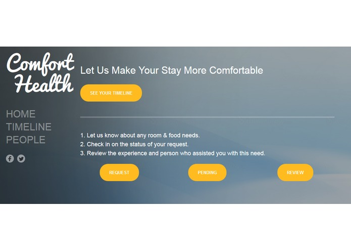 ComfortHealth – screenshot 1