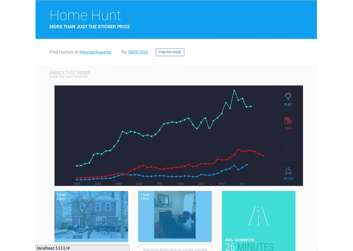 home hunt – screenshot 1