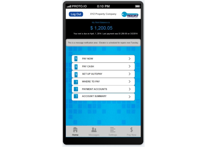 Rezzcard  Mobile - Cash Rent Payments – screenshot 3