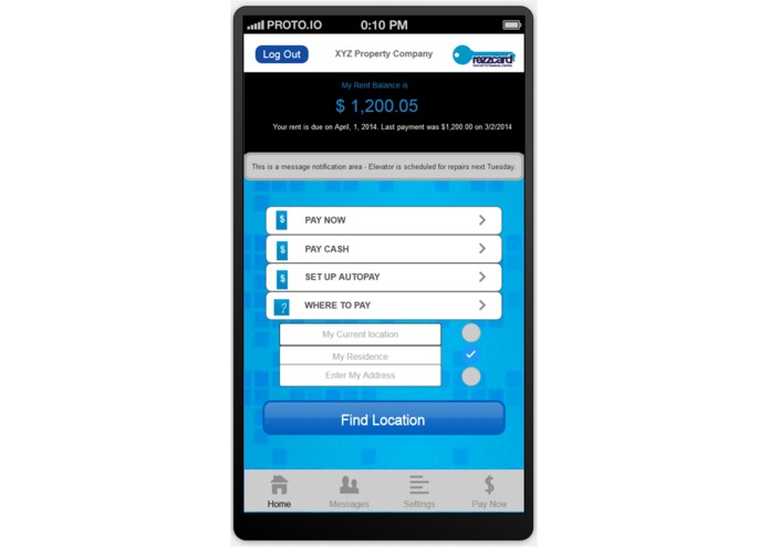 Rezzcard  Mobile - Cash Rent Payments – screenshot 4