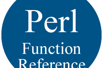 Perl Function Reference