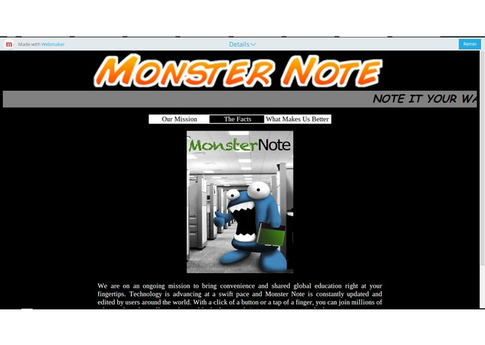 MonsterNote – screenshot 2